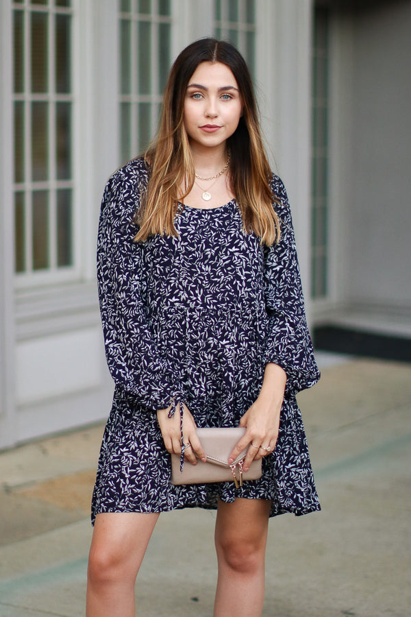 Lina Print Woven Dress - Madison + Mallory
