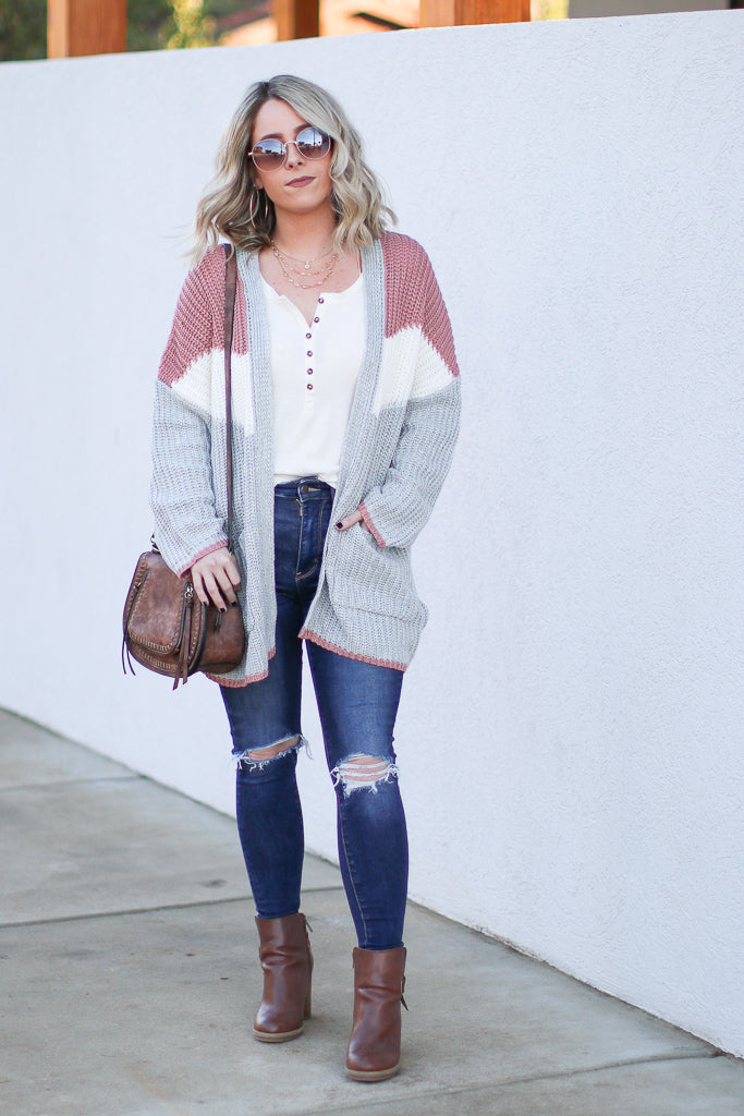 Miriam Cardigan - Madison + Mallory