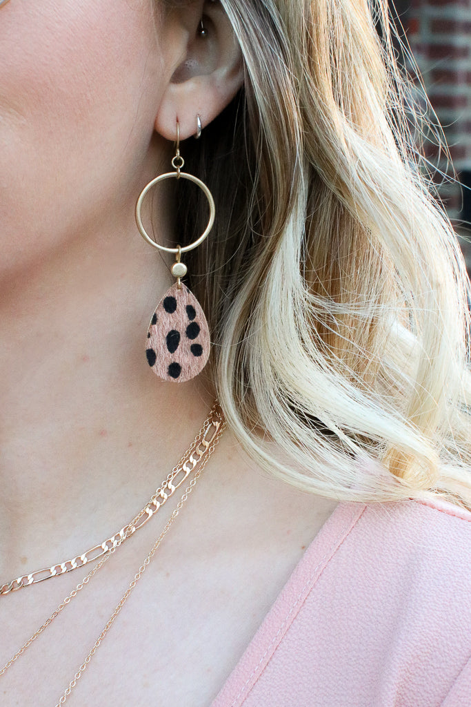 OS / Leopard Tamed by You Animal Print Earrings + MORE COLORS - Madison + Mallory