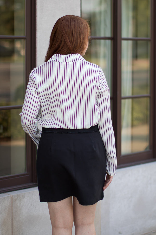 Annalee Striped Top - Madison + Mallory