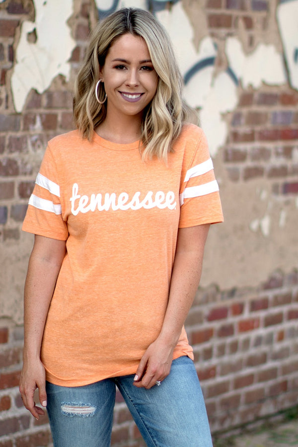 Tennessee Fresh Script Tee | CURVE - Madison + Mallory