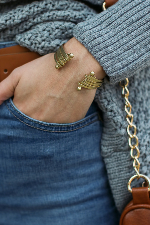 At Last Matte Finish Cuff - Madison + Mallory