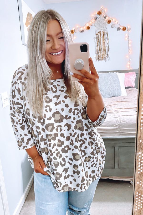 Orvieto Animal Print Top - Madison and Mallory