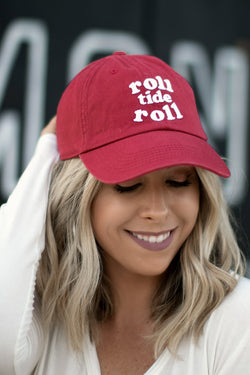 Roll Tide Roll Dad Hat - Madison + Mallory