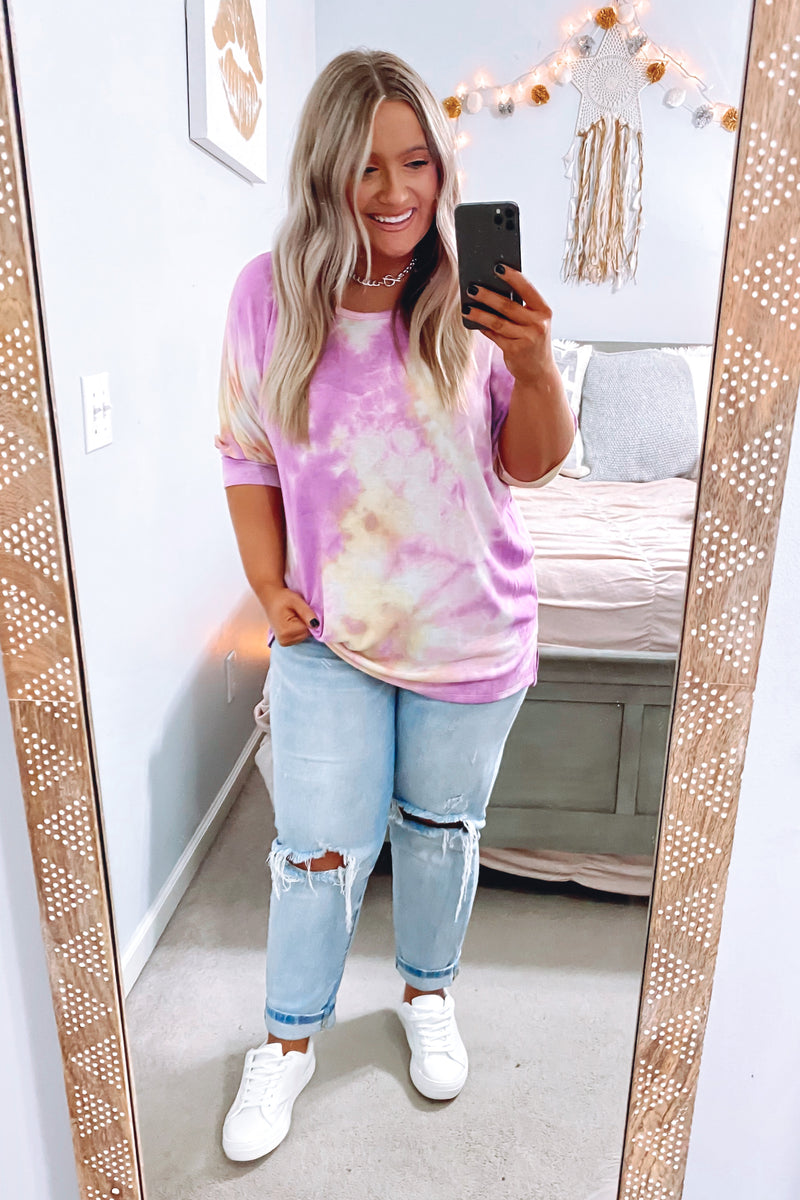 Time and Place Tie Dye Top - Madison and Mallory