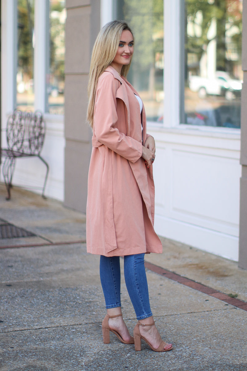 Femme Fatale Lightweight Coat - Madison + Mallory