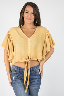 Anita Tie Top - Madison + Mallory