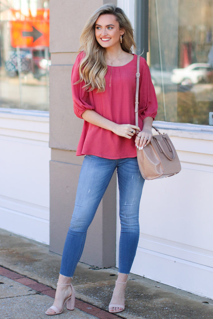 Light Wash Mid-Rise Boyfriend Jeans