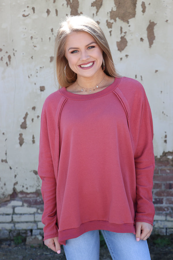 French Terry Pullover - Madison + Mallory