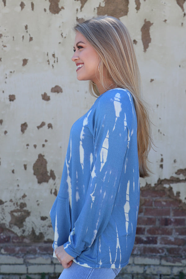 Tie Dye Knit Top - Madison + Mallory