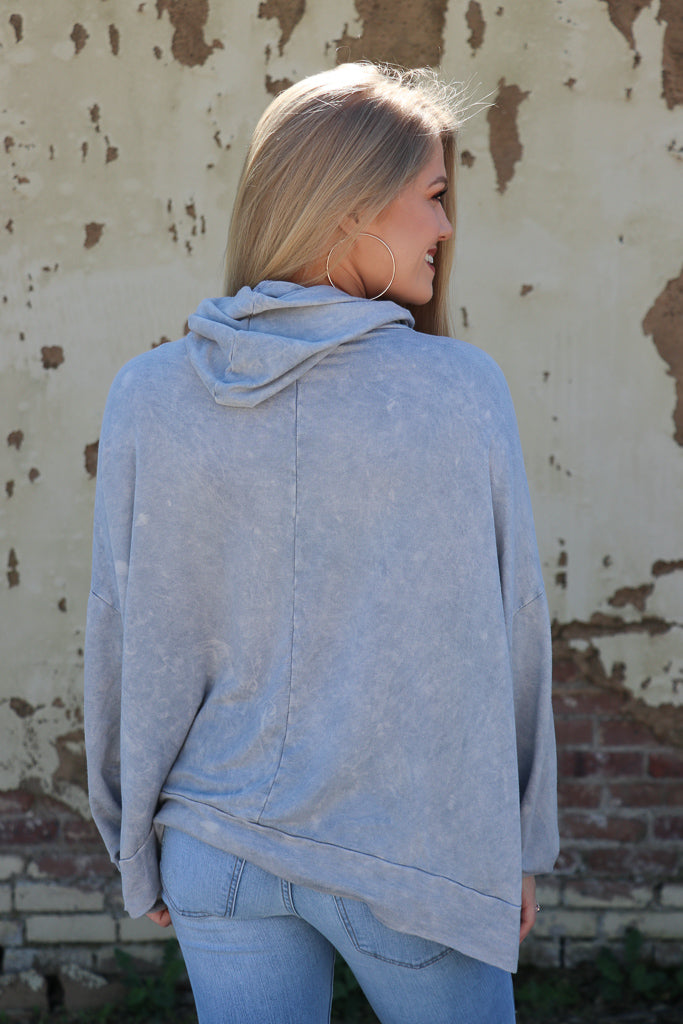 Mineral Washed Hoodie - Madison + Mallory