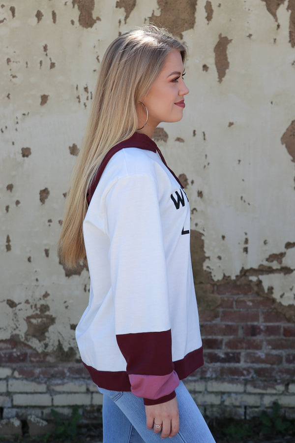 Weekend Lover Graphic Hoodie - Madison + Mallory