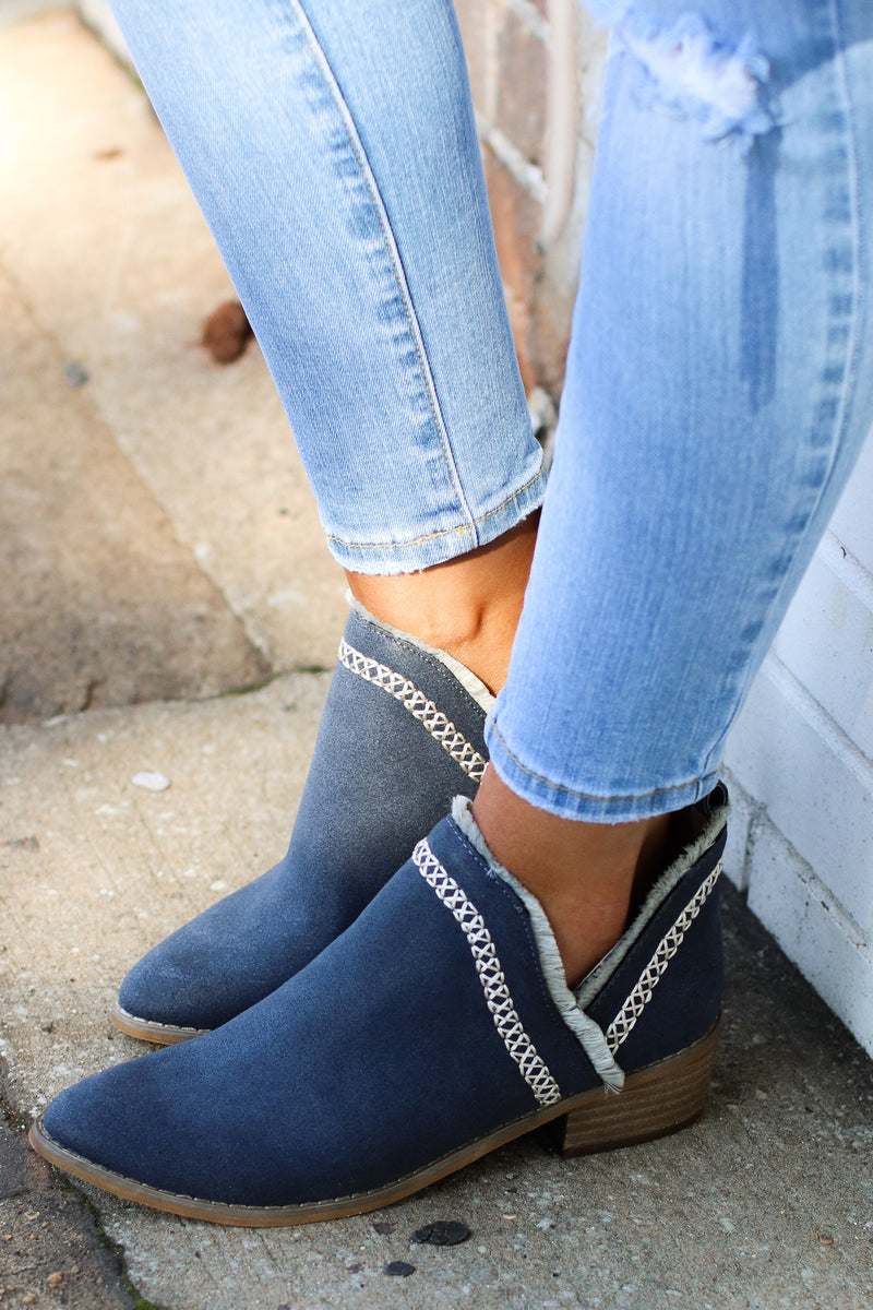 Torii Boho Stitched Bootie - FINAL SALE - Madison and Mallory