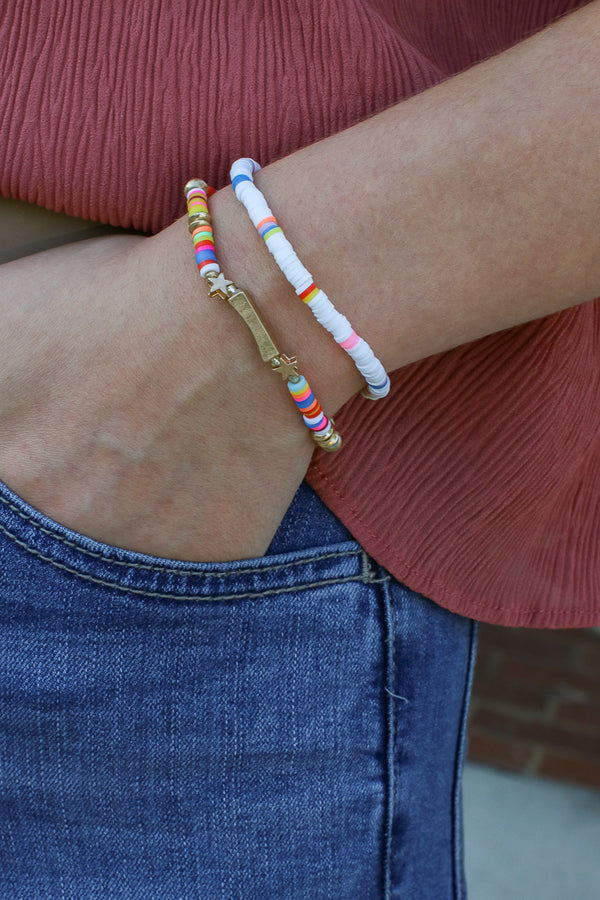All Star Beaded Bracelet - Madison + Mallory