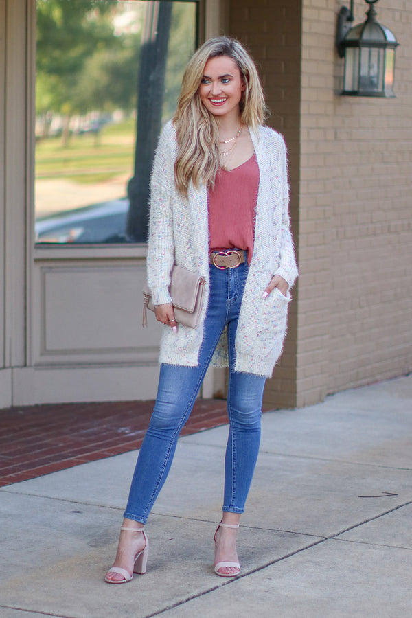 Just Desserts Multi Color Cardigan - Madison + Mallory