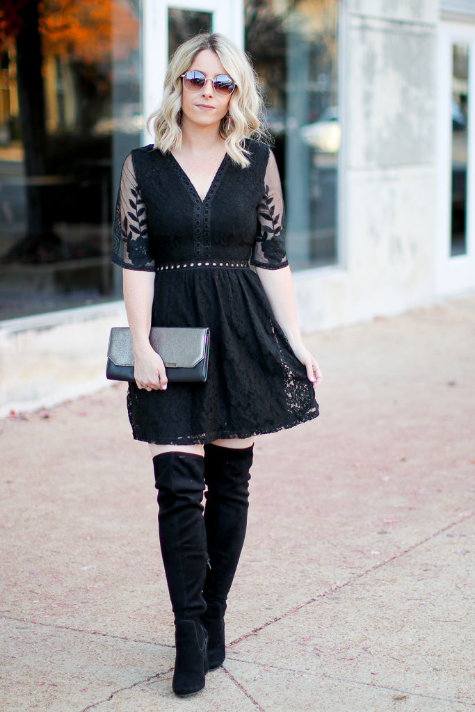 Only For You Crochet Lace Dress - Madison + Mallory