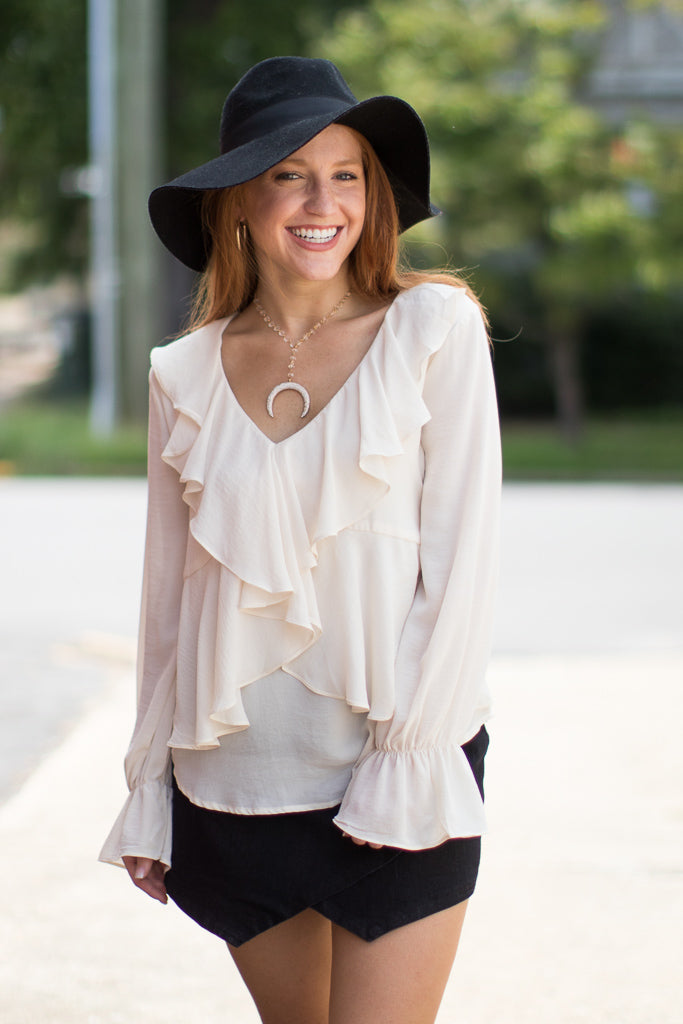 Wild Ruffles Top + MORE COLORS - Madison + Mallory