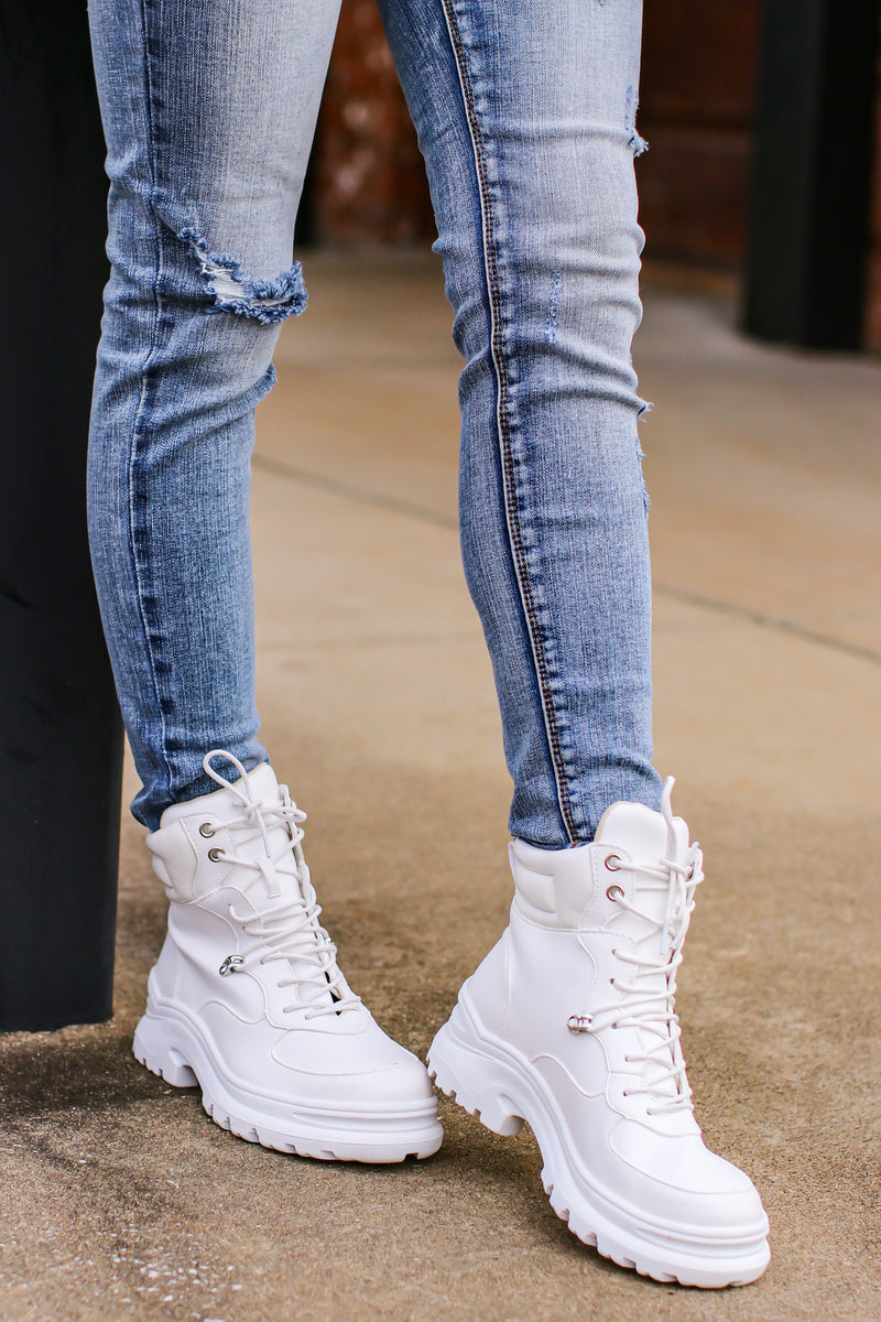 Venya High Top Sneaker - Madison and Mallory