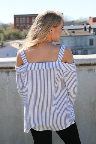 Boyfriend Button Down Top