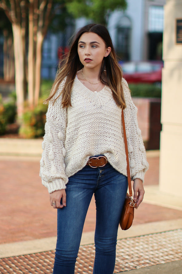 White / S Obsession Confession Sweater - White - Madison + Mallory