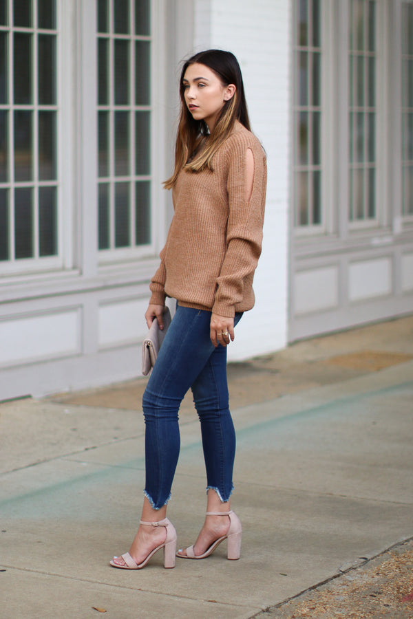 How Will I Know Knit Sweater - Madison + Mallory