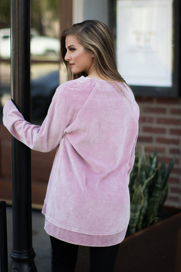 Leisure Thing Sweatshirt - Madison + Mallory