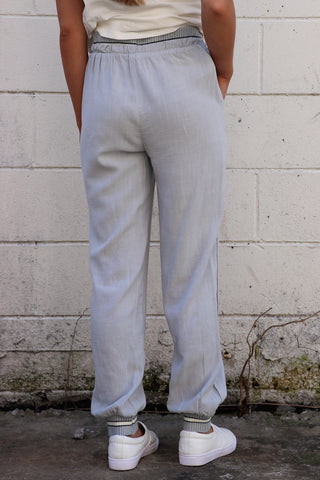 Contrast Waistband Joggers