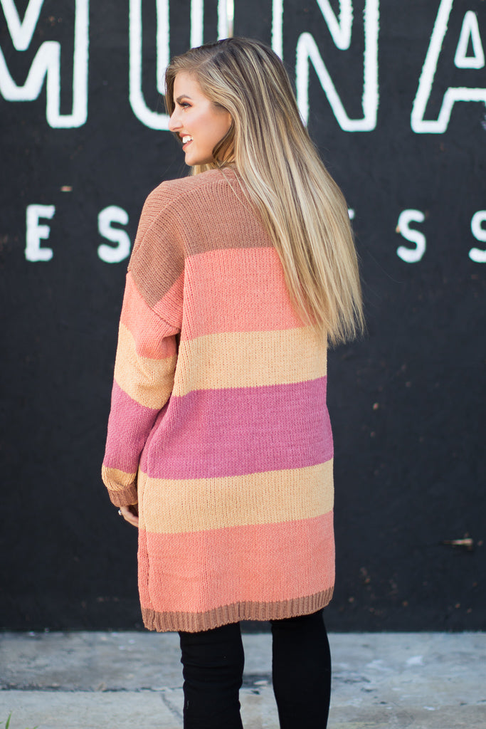 Sunset Love Cardigan - Madison + Mallory