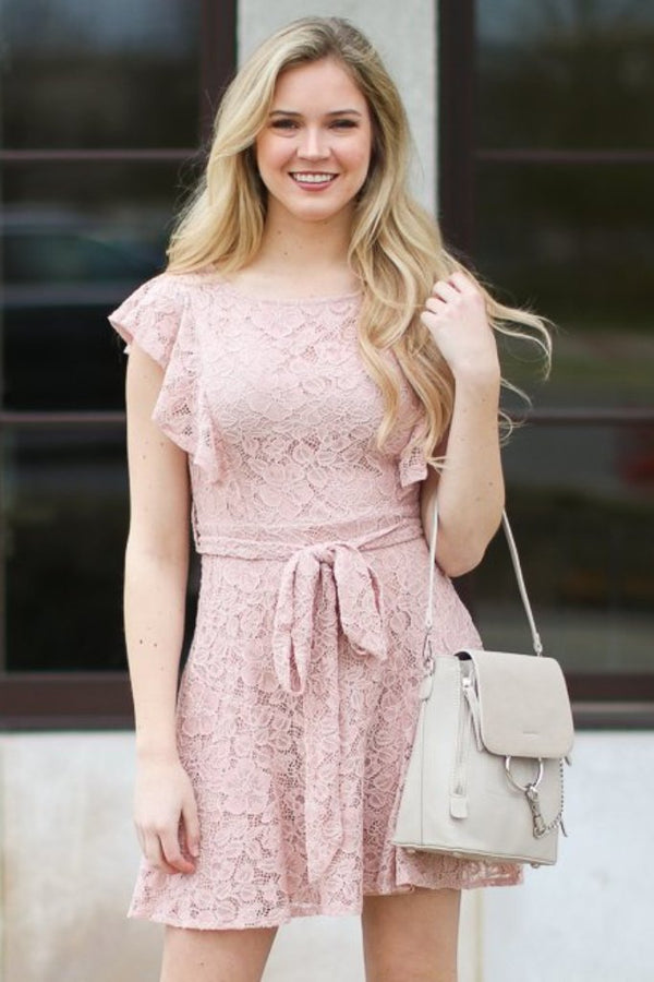 What Dreams are Made of Lace Dress - FINAL SALE - Madison + Mallory