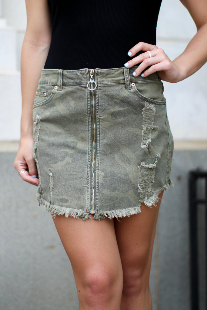Hide and Seek Skirt - Madison + Mallory