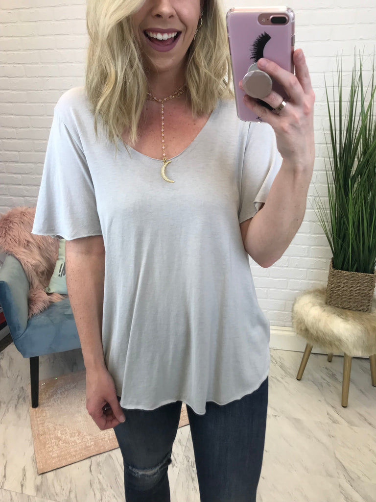 S / Cloud Super Soft Knit Top - Madison + Mallory