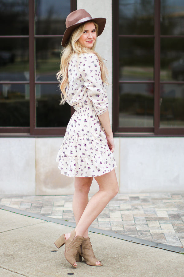 All for You Floral Peasant Dress - FINAL SALE - Madison + Mallory