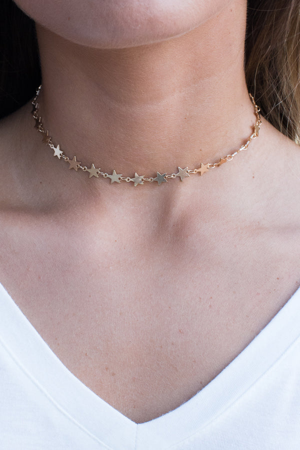 Deep in a Daydream Star Choker - Madison + Mallory