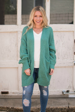 SM / Moss Instant Love Knit Cardigan - Madison + Mallory