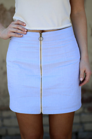 So Caught Up Skirt - Madison + Mallory