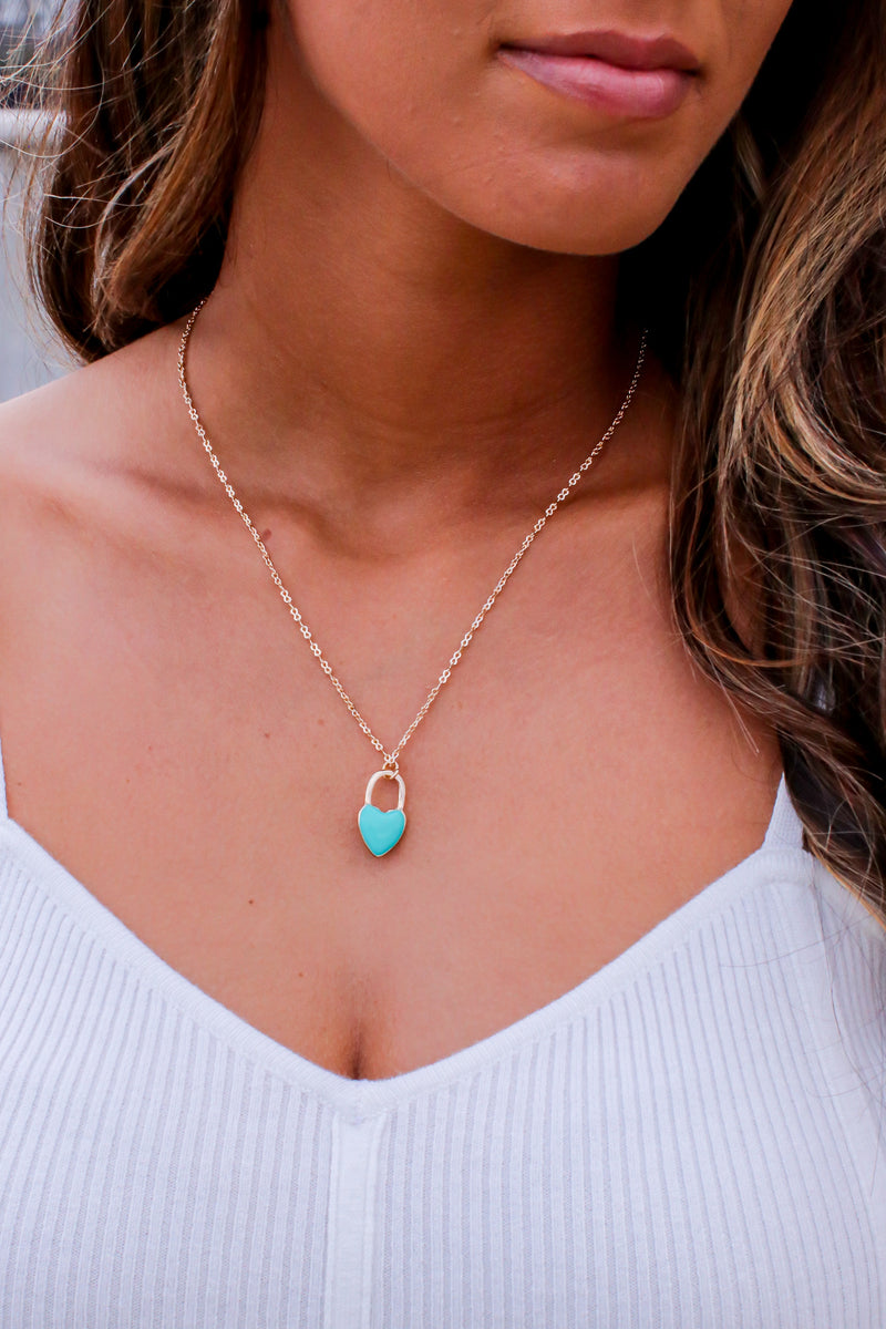 Dearly Dainty Heart Charm Necklace - Madison and Mallory