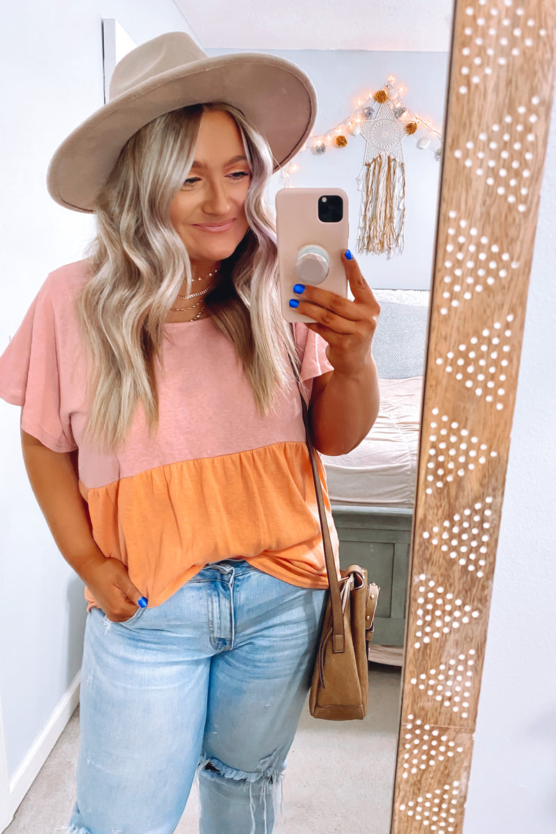 Coast to Coast Tropical Off Shoulder Top - Madison + Mallory