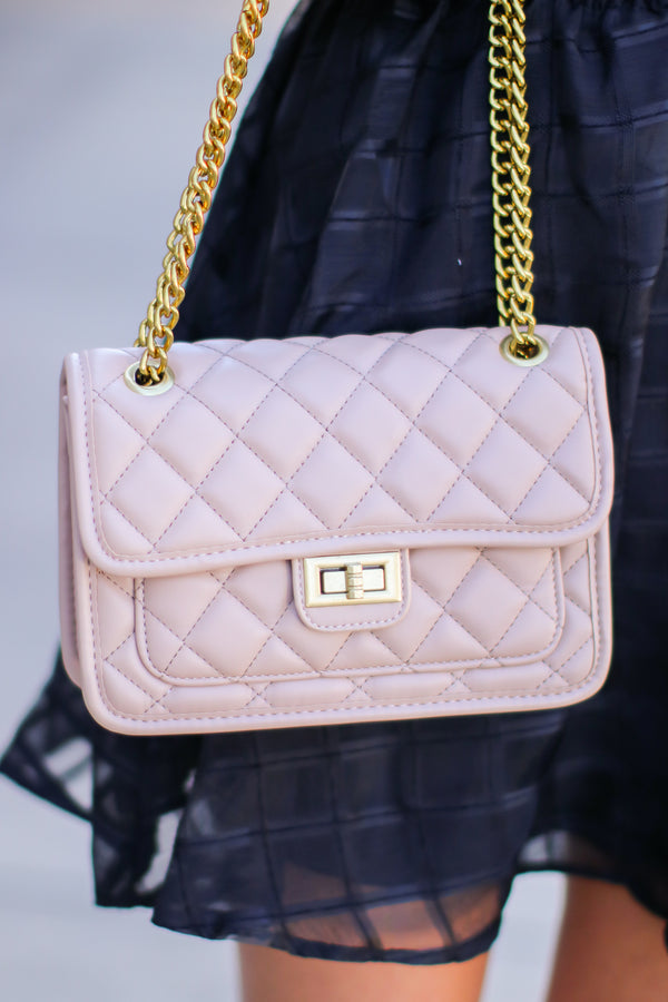 Luxe it Up Quilted Crossbody Bag - Madison and Mallory