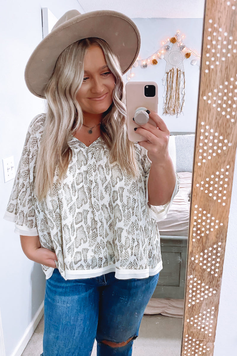 Days Like These Animal Print Top - Madison and Mallory