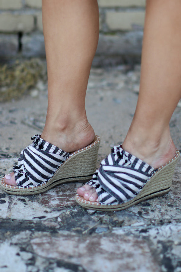 Laila Espadrille Wedges - Madison + Mallory