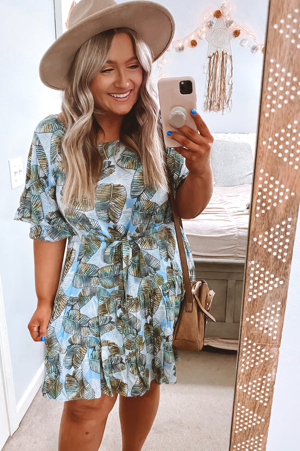 Out To Sea Printed Dress - FINAL SALE - Madison and Mallory