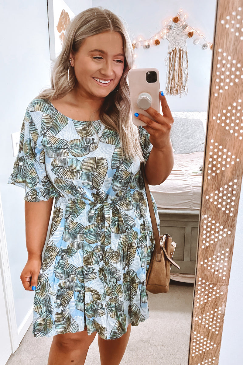 Out To Sea Printed Dress - Madison and Mallory