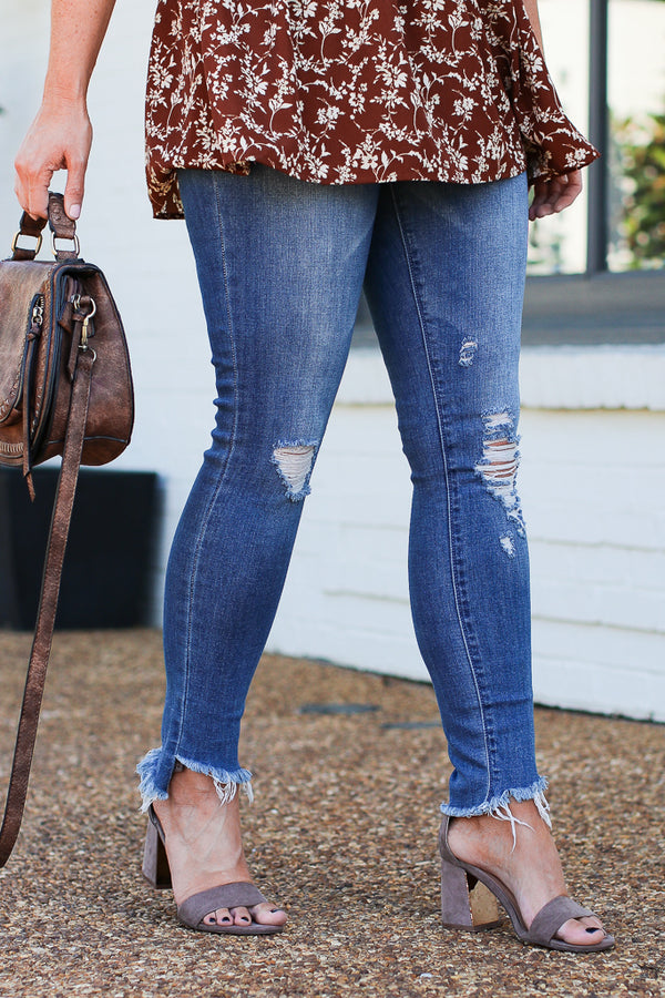 Santa Barbara Cropped Jeans - FINAL SALE - Madison + Mallory
