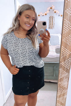 Lysa Animal Print Top - Madison and Mallory