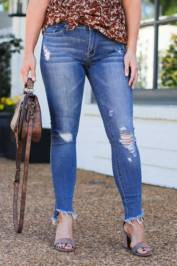 0 Santa Barbara Cropped Jeans - FINAL SALE - Madison + Mallory
