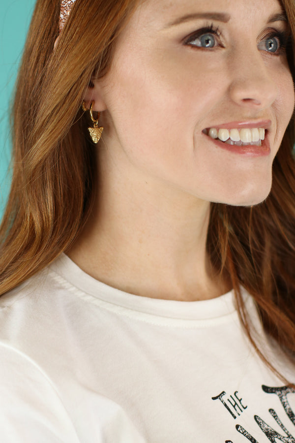 Sphinx Leopard Hoop Earrings - Madison and Mallory