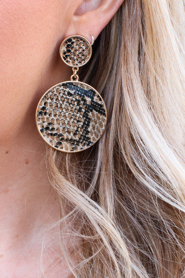 Living Legend Snake Earrings - Madison + Mallory