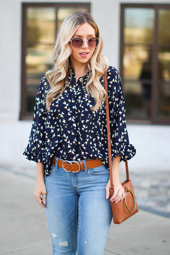 Birds of a Feather Top - Madison + Mallory