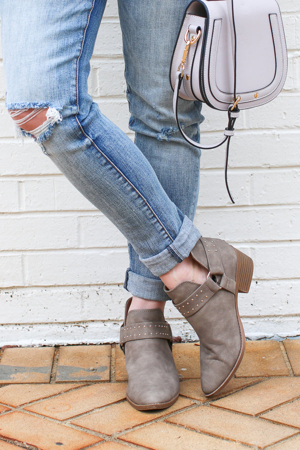Never be the Same Buckle Booties - Madison + Mallory