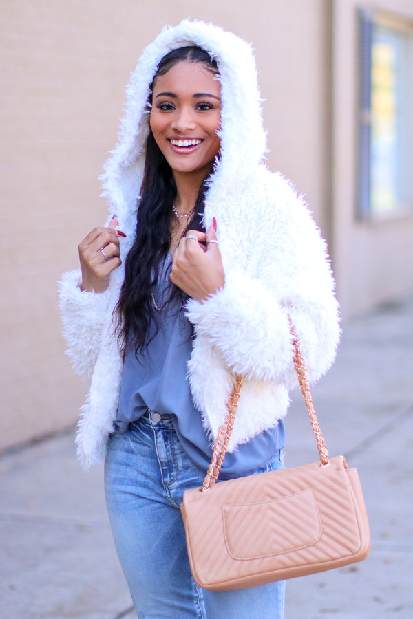 Nothing Compares Faux Fur Jacket - Madison and Mallory